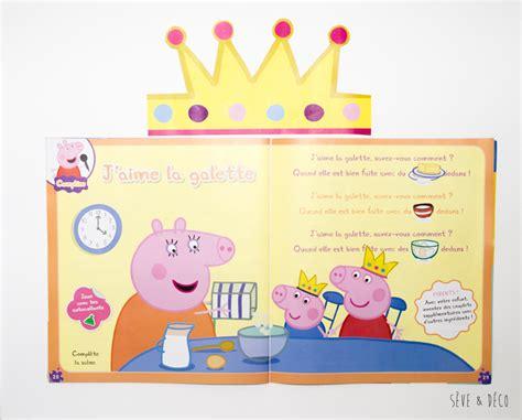 Decorer Galette Des Rois by Vive Les Rois Brioche Couronne Et Peppa Pig S 232 Ve D 233 Co