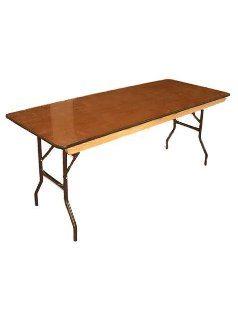 6 Foot Banquet Table Rental Folding Table Rentals