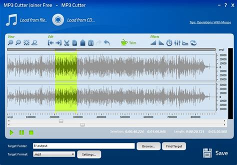 to cut a mp3 mp3 cutter joiner free download at mp3 tools multimedia