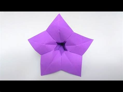 How To Make Paper Violets - origami violet flower doovi