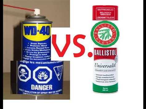 better than wd40 the better wd 40 ballistol both degreaser lube for