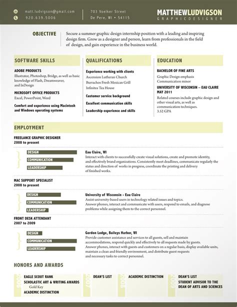 amazing resumes exles 28 amazing exles of cool and creative resumes cv