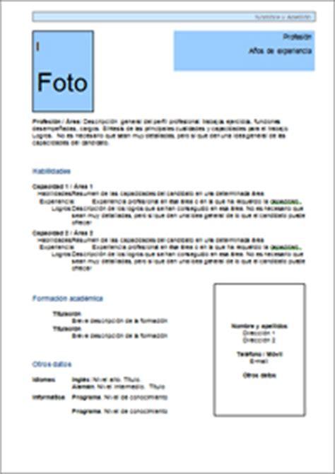 Modelo De Un Curriculum Vitae Funcional Modelo De Cv Funcional Curriculum Vitae Plantilla