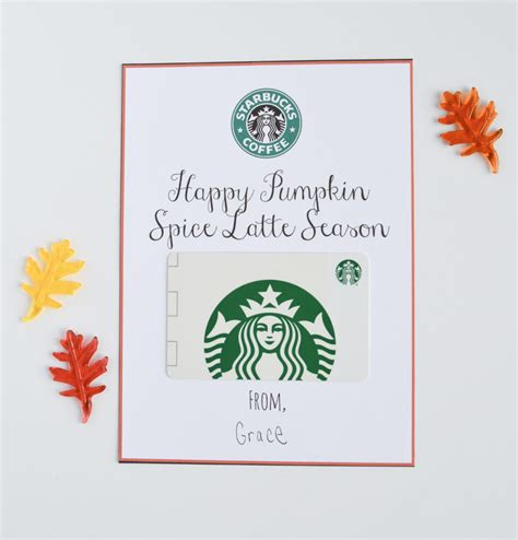 printable gift certificates starbucks adorable candy free halloween treat ideas with free
