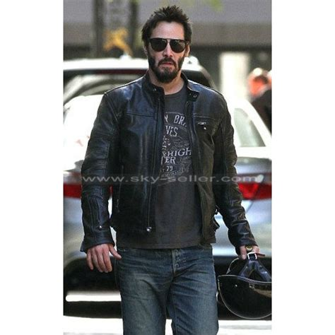 motorcycle style leather jacket keanu reeves krgt 1 black motorcycle leather jacket