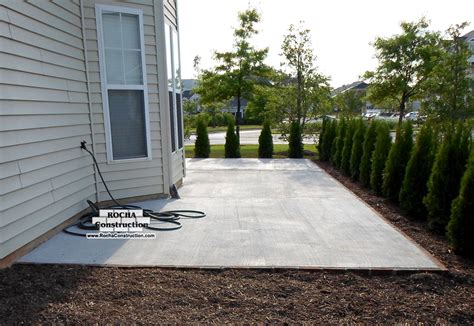 how to build a cement patio bed and breakfast in