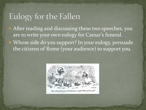 ppt what is a eulogy powerpoint presentation id ppt julius caesar eulogy powerpoint presentation id 987201