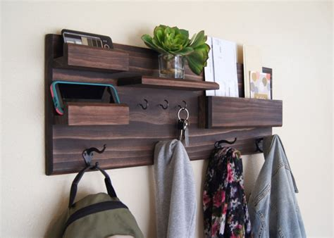 Coat And Key Rack by Coat And Key Hooks Entryway Organizer Holycool Net