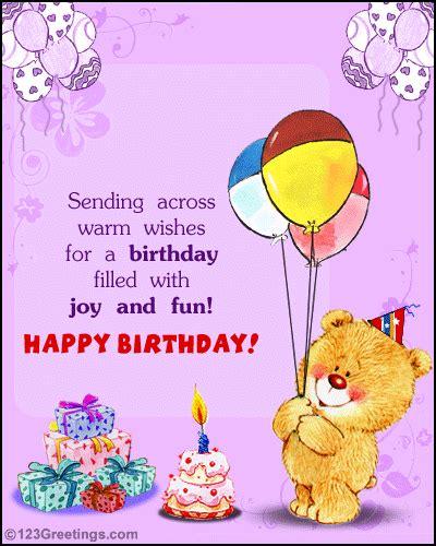 Free Happy Birthday Cards