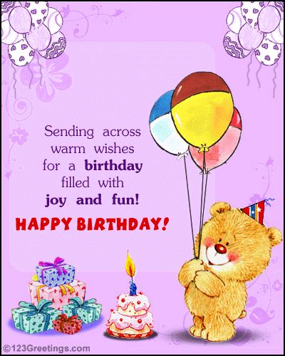 happy birthday free fun ecards greeting cards 123