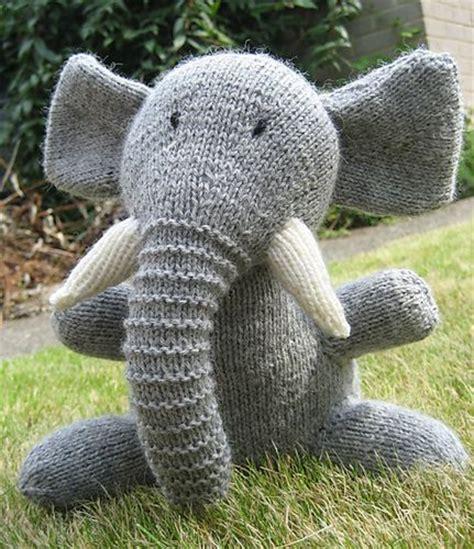 elephant knitting pattern the world s catalog of ideas