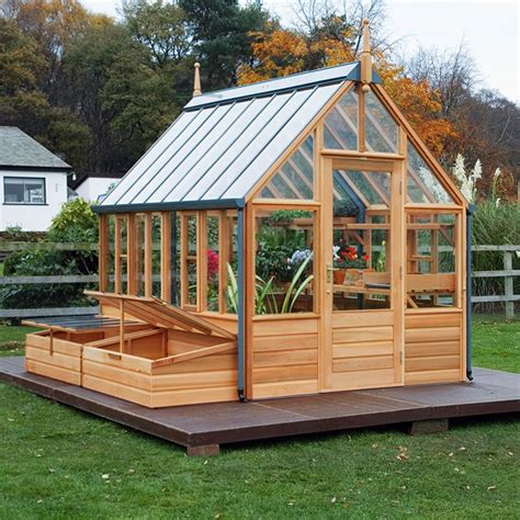 Garden Shed Greenhouse Plans gabriel ash rosemoor greenhouse hobby greenhouse kits by