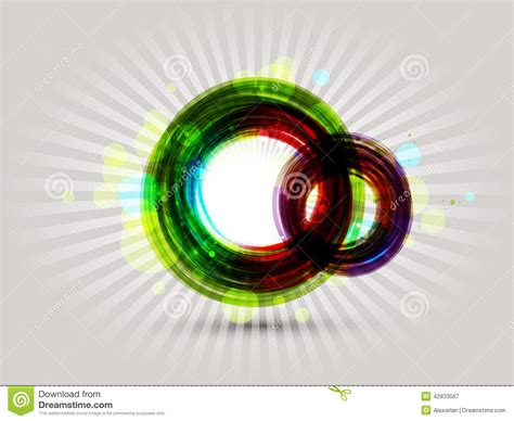 colorful round wallpaper colorful round abstract background stock vector image