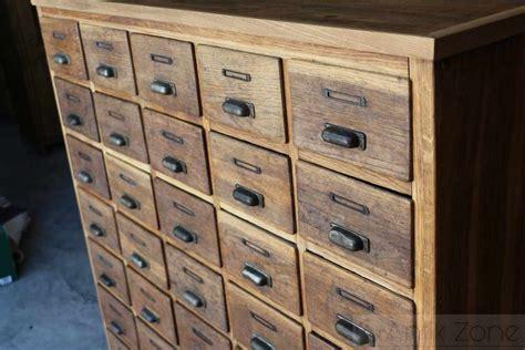 schubladenkasten selber bauen apothekerschrank schubladenkasten regal antik zone at