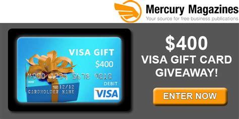 Mercury Gift Cards - 400 visa card giveaway expired mama likes this