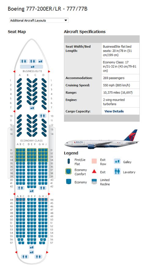 delta seating charts delta airlines aircraft seatmaps airline seating maps
