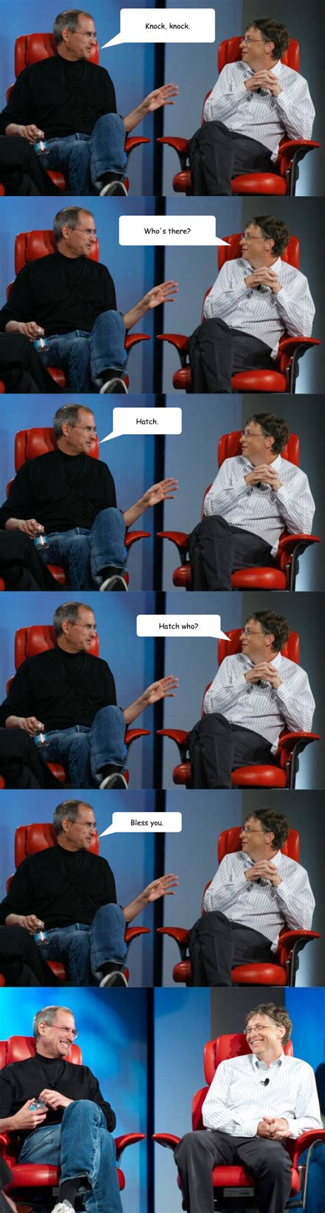 Bill Gates And Steve Jobs Meme - steve jobs and bill gates meme weknowmemes