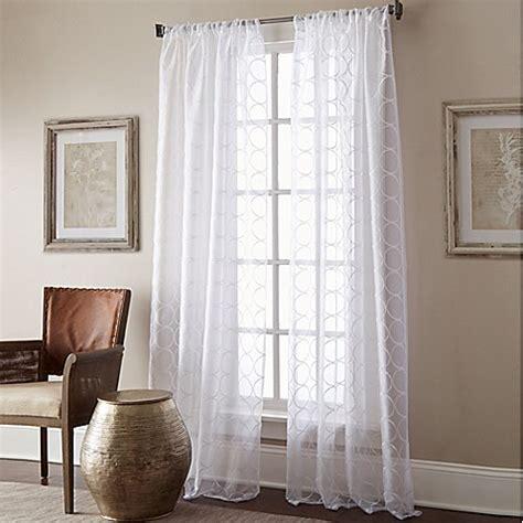bed bath beyond manhattan manhattan sheer rod pocket window curtain panel bed bath beyond