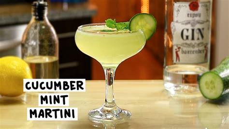 martini mint cucumber mint martini tipsy bartender