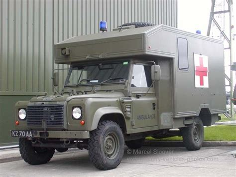 british land rover defender army land rover battlefield ambulance land rover