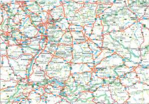 Map Of Southern Germany by Southern Germany Map