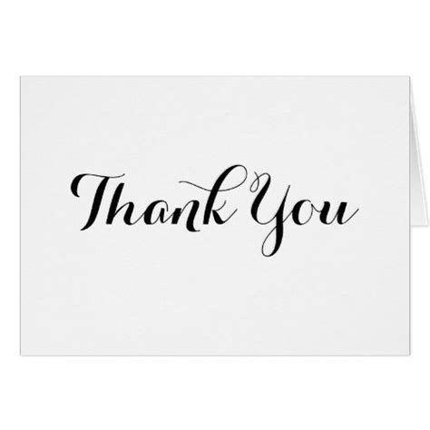 formal thank you card template formal wedding thank you cards black calligraphy thank you