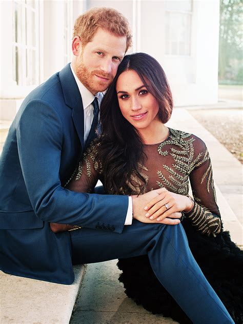 prince harry and meghan markle prince harry meghan markle release official engagement photos