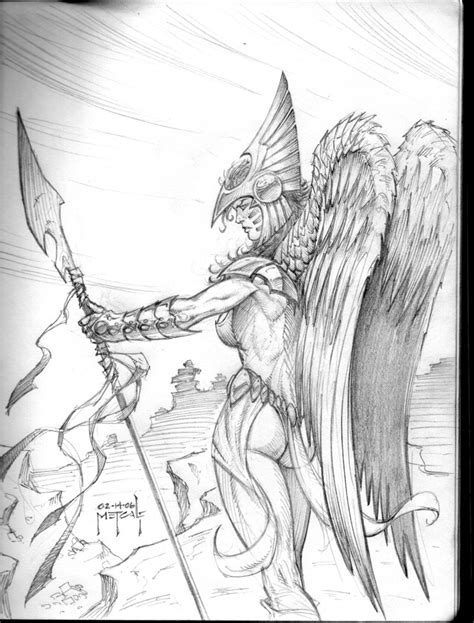 hawkgirl warrior by jman 3h on deviantart