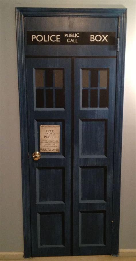 Make Your Own Tardis Door For The The Doors And Dr Who Tardis Closet Door
