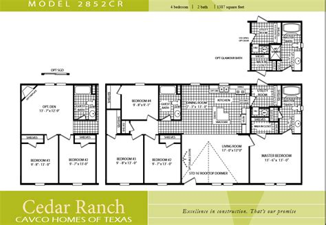 cavco homes floor plans ourcozycatcottage
