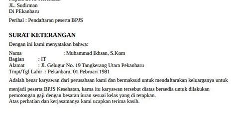 contoh surat kuasa untuk bpjs wisata dan info sumbar