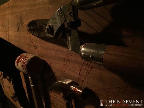 the basement escape room attraction wants you theme