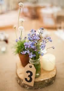 country garden wedding wedding centerpieces
