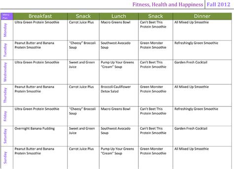 Detox Po Polsku by Menu Planning The Cleanse Edition Conyers