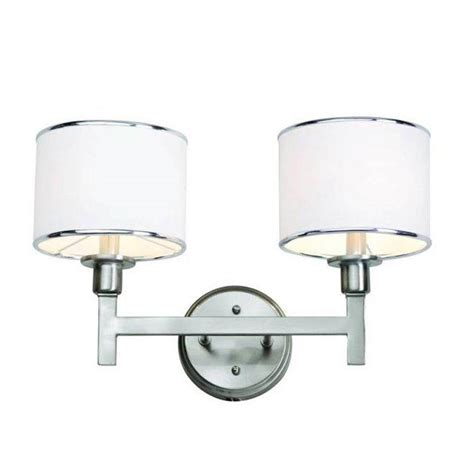 brushed nickel bathroom light bar bel air lighting cabernet collection 2 light brushed