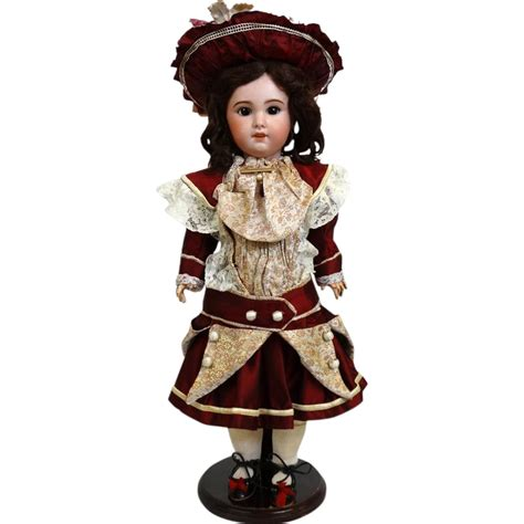 jumeau bisque doll antique bisque doll jumeau 230 from tantelinas