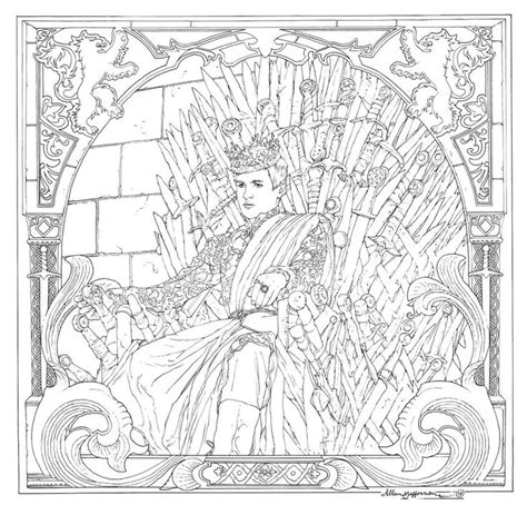 books a million of thrones coloring book of thrones coloring book 14 by alljeff deviantart