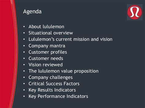 lulu template strategic review of lululemon athletica