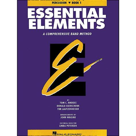 essential elements to include in hal leonard essential elements book 1 percussion