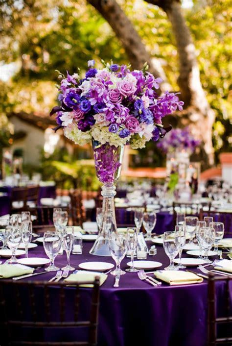 purple wedding themes weddings romantique