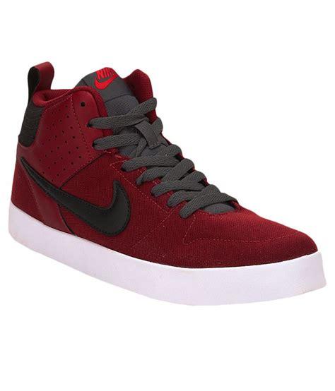 burgundy sneakers nike nike maroon sneaker shoes n669594601 buy nike maroon