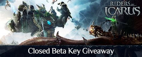 Riders Of Icarus Giveaway - riders of icarus closed beta key giveaway mmobomb com