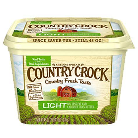 butter lights light buttery spreads country crock 174
