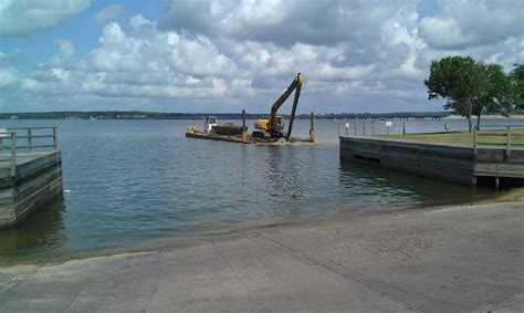 public boat launch lower buckhorn lake some marinas and boat launch facilites getting ready for