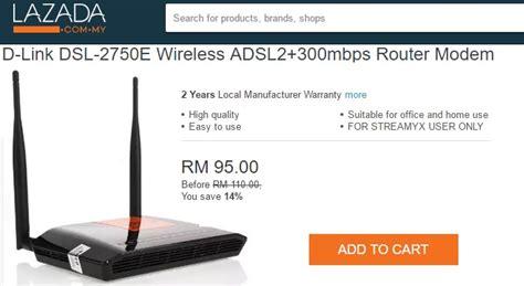 Modem Di Malaysia Beli Modem Yang Bagus Untuk Streamyx