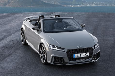 Audi Tt Rs Coupe by 2017 Audi Tt Rs Roadster And Coupe Bow In Beijing With 400