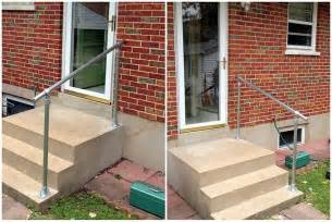 handrail kits outdoors easy to install outdoor stair railing simplified building