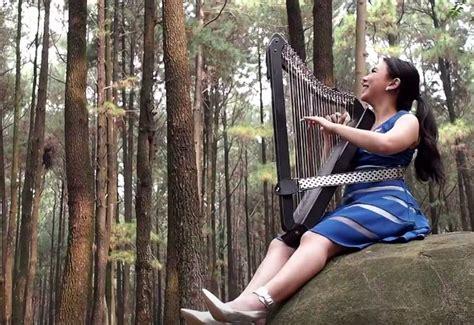 Despacito Harpa | cover lagu despacito maria pratiwi buktikan harpa tak