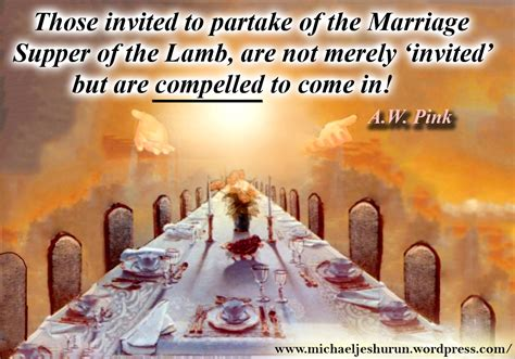 invitation to the wedding feast the marriage supper of the