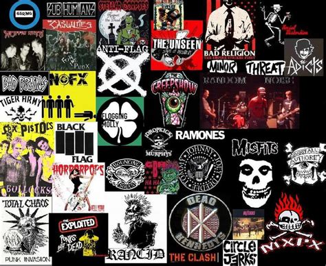 music artists names from a to z greatest punk rock band logos www pixshark com images